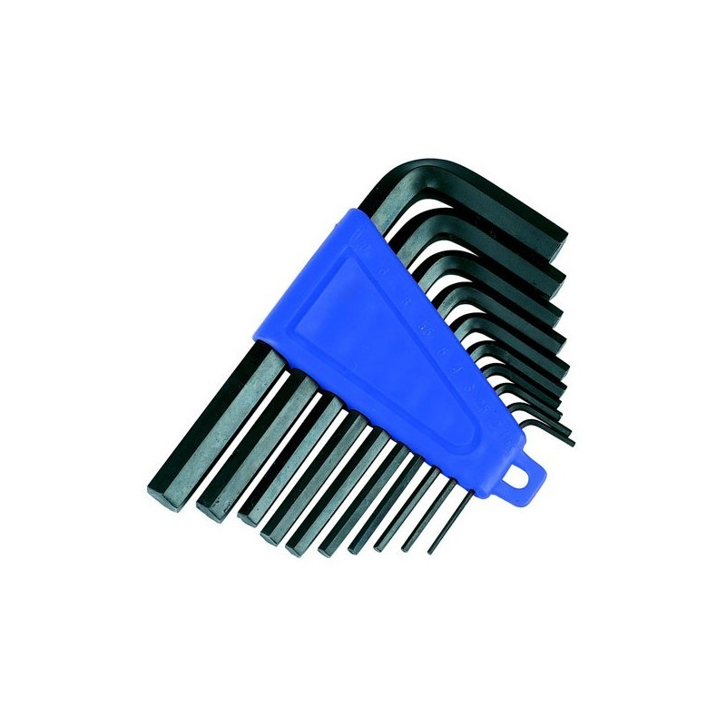 Metric Hex Key Set 10 Piece