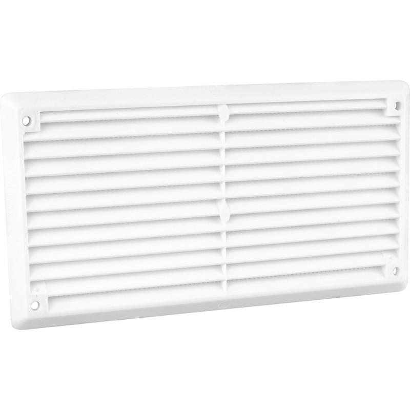 """Louvre Vent Flyscreen 6"""" x 3"""""""