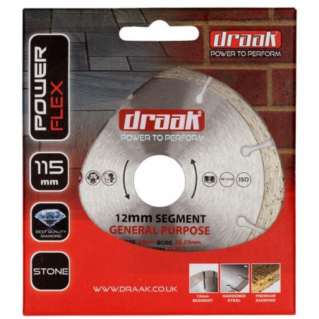 DRAAK POWER PLUS GENERAL PURPOSE DIAMOND DISC