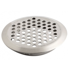 Silver round air vent
